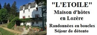 L'Etoile Chambres et tables d'hôtes à La Bastide Puylaurent entre Lozère, Ardèche et Cévennes