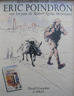 Eric Poindron on the Robert Louis Stevenson Trail
