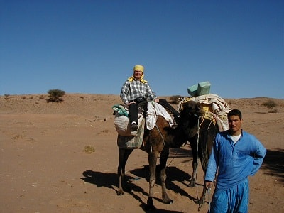 10 Exchange with Zagour Hotel, Zagora, Draa Valley, Morocco